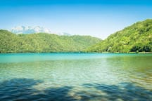 A pochi chilometri troverete anche il lago di Levico Terme