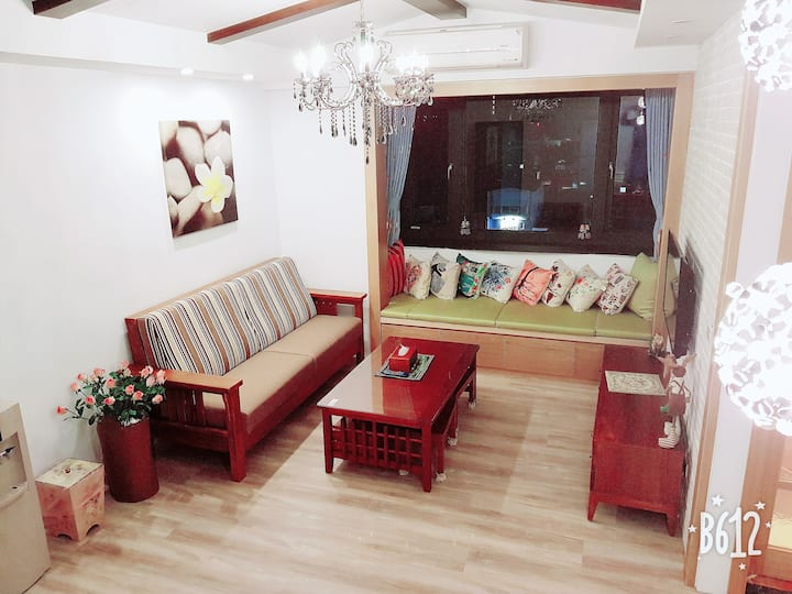 花蓮市中心兩房一廳公寓(全新裝潢)
