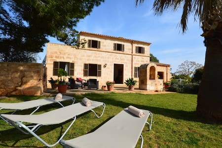Nice finca close to beaches - Manacor - Rumah