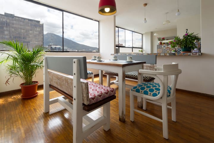 Gorgeous apt. near Plaza Foch (3BR) - Quito