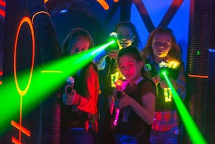 Triple Play Laser Tag.