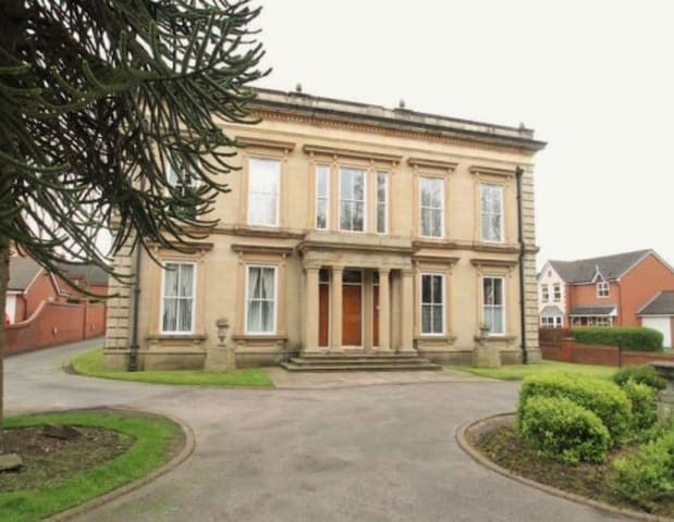 Beautiful mansion house apartment - Bury - Wohnung