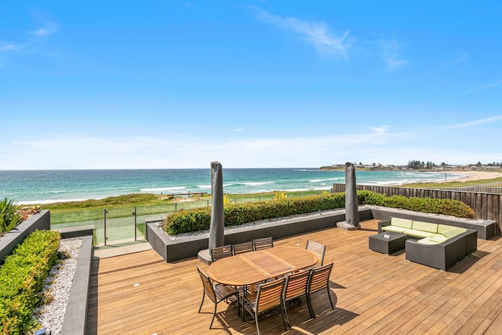 Beach Front Home - 'Wanda' near Kiama