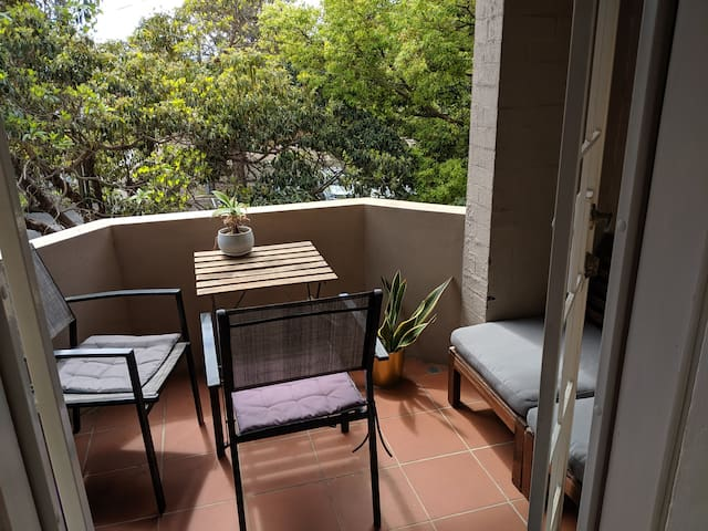 Master Bedroom with Private Balcony Bondi Beach