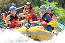 White water rafting all levels