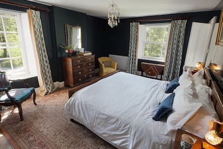 Coombe Farm Goodleigh B&B - Blue room - Goodleigh - Bed & Breakfast