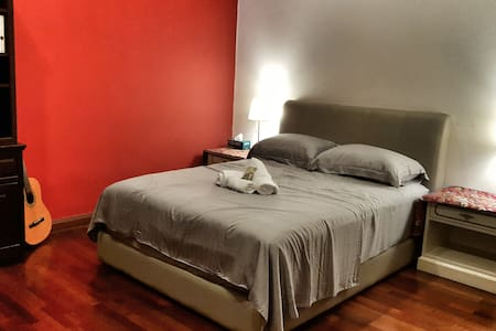 Charming room w luxurious mattress and beddings - Kuala Lumpur - Lejlighed