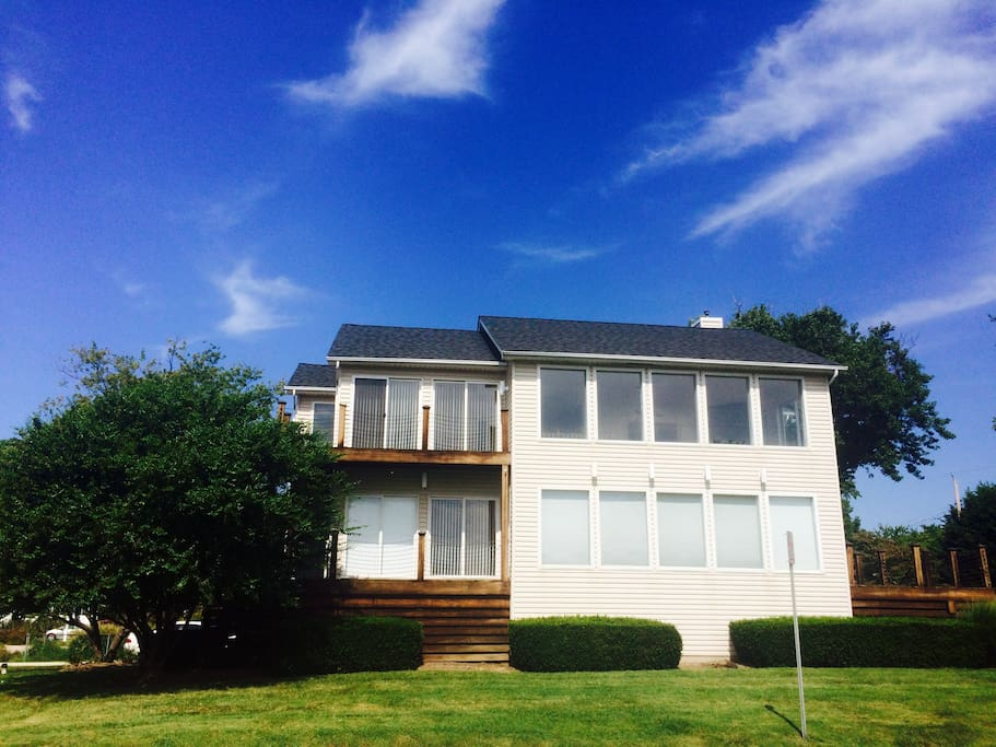 Beverly Beach House Main Deck Houses For Rent In