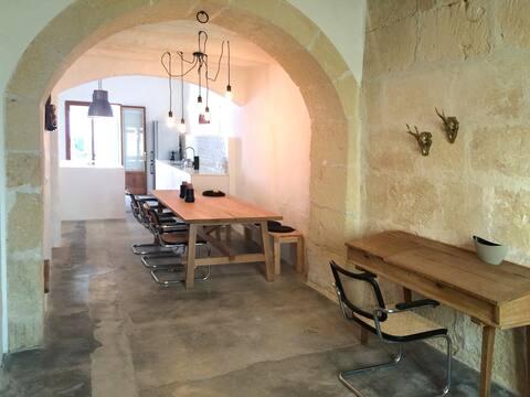 Design-Ferienhaus im ursprünglichen Ort Sencelles