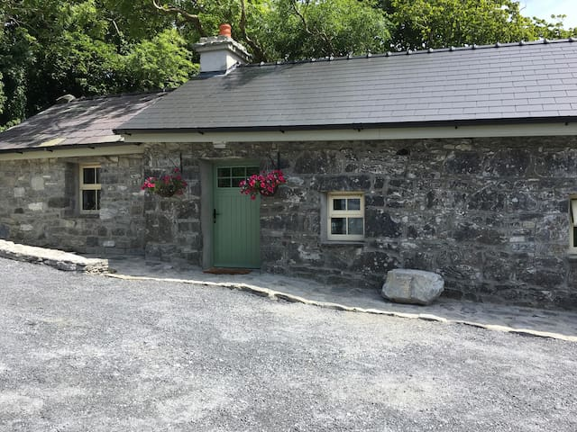 Front view of Carley's cottage