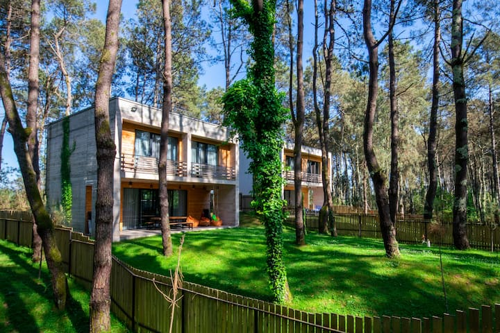"Kaprovani ""Pine Grove"" Beach House <>100M to Sea!"