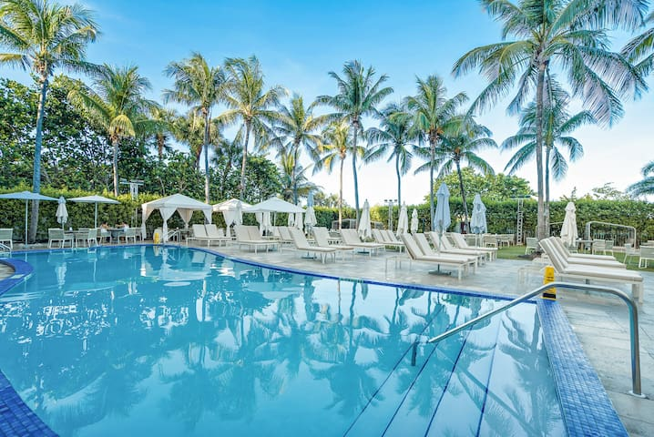 South Beach 603 | Deluxe Studio Courtyard View | Free Parking + No Resort Fee