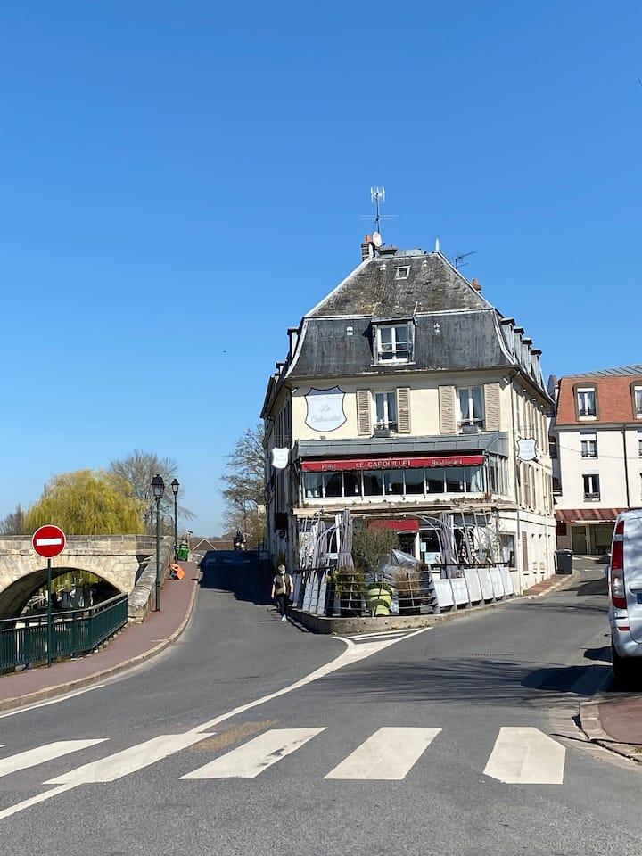 Cosy à L'Isle Adam, ville historique près de Paris