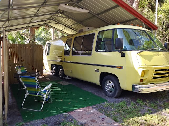 Our Yellow Submarine, Vintage  26' Motorhome - St. Augustine - Camper/RV