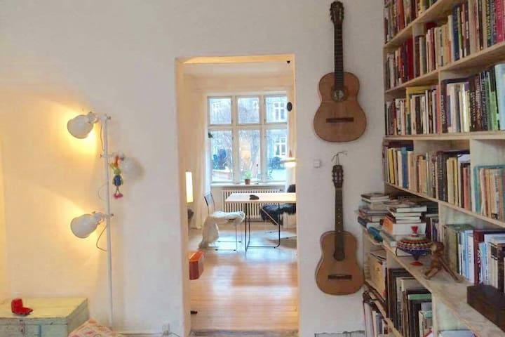 cosy and charming apartment at Nørrebro - Copenhague - Departamento