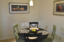 Dining room next to kitchen