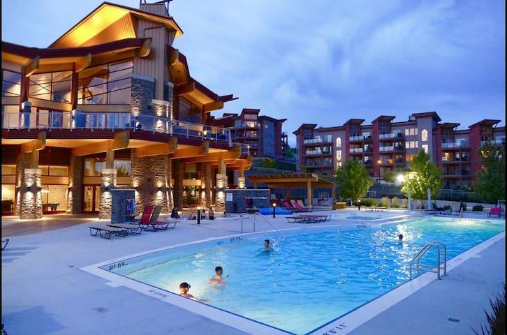 Copper Oasis -Okanagan 2 BR condo-resort amenities