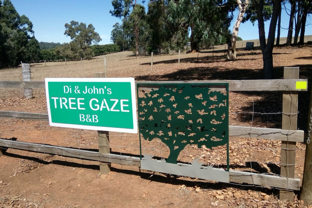 the gate to di&john treegaze