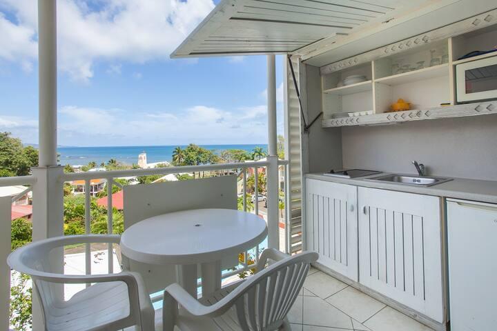Appartement balcon vue mer