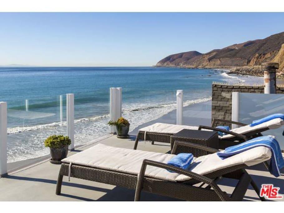 Seabreeze 2 beautiful malibu beach house h 228 user zur miete in malibu kalifornien vereinigte