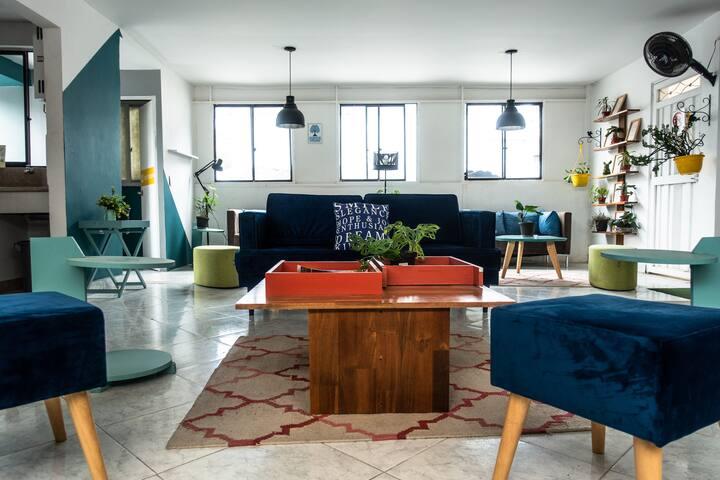 Cozy room in digital nomad spot, fiber internet #1