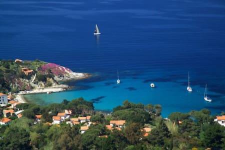 """Isola d'Elba Capo S.Andrea trilocale X 6p """"Edera"""" - Zanca"""