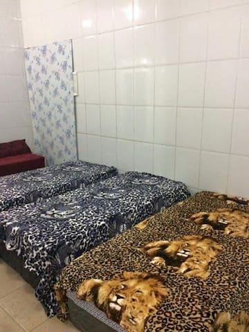 casa de hospedes para grupos de 6 pessoas recreio