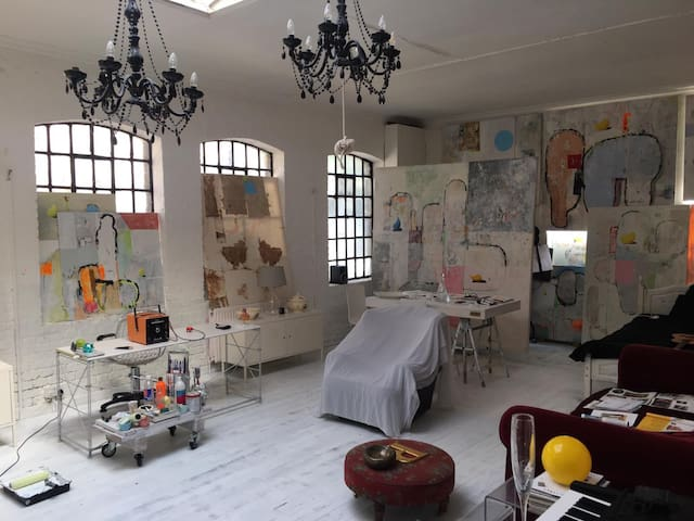 Artist Atelier Loft in East London