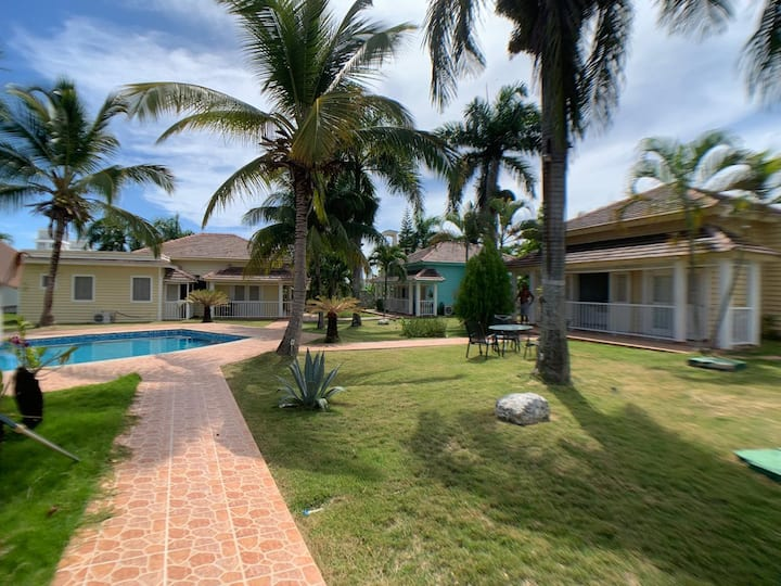Beautiful Villa at the Center of Punta Cana