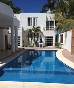 House with pool in lo de Marcos Nayarit - Lo de Marcos - Appartement