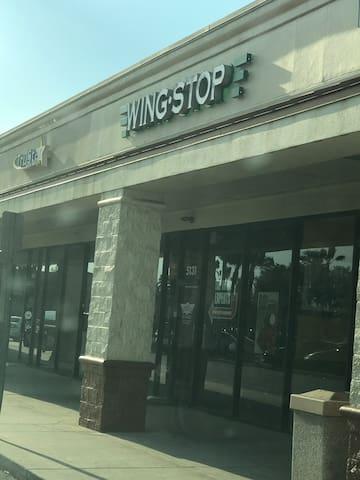 WingStop 0.8 miles