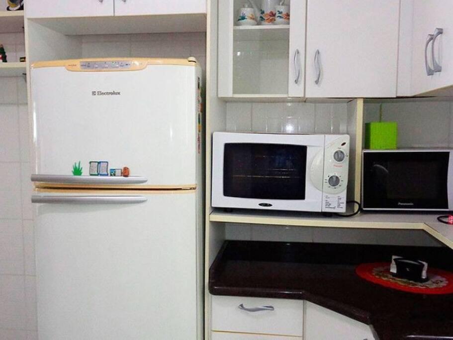 geladeira, microonda, forno