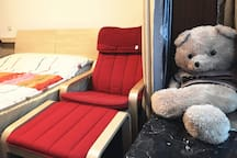 房客的卧室(带飘窗)
