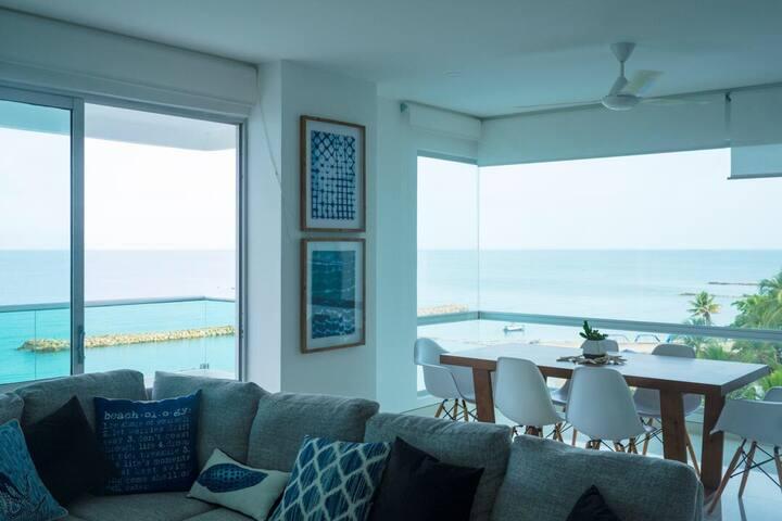 Exclusive Apartment, Oceanfront, Coveñas, Sucre