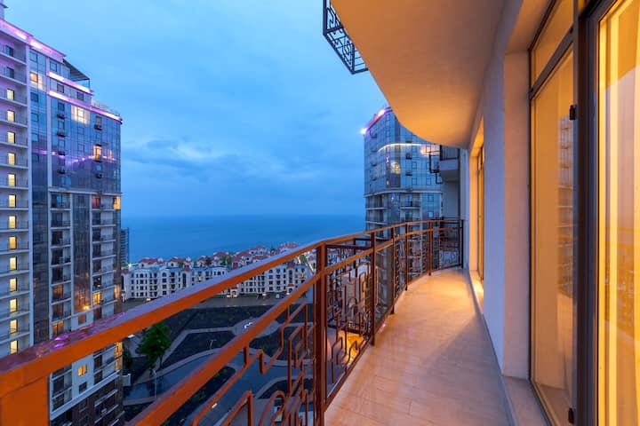New apartments in Arcadia,sea view, balcony