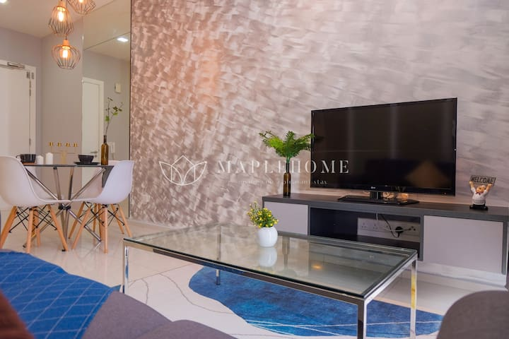 1+1BR Cozy Family Suite KL City Big Swimming Pool