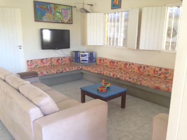Casa confortável em Serrambí