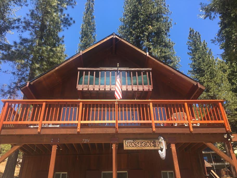 Hans basecamp chalet in affitto a parco nazionale di for Cabine di alloggio del parco nazionale di yosemite
