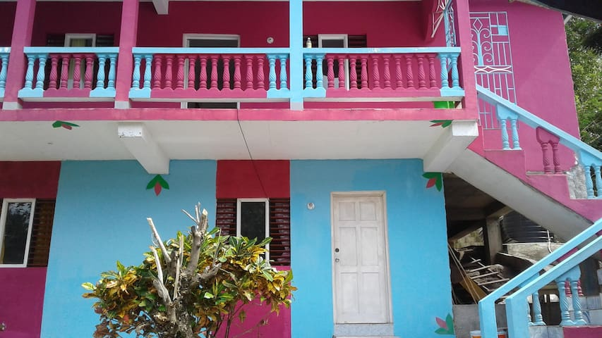 Pink & Blue House 23 Boundbrook Rd Port Antonio - Port Antonio - Talo