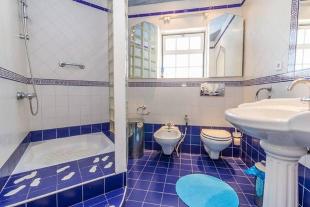 1ère salle de douche!