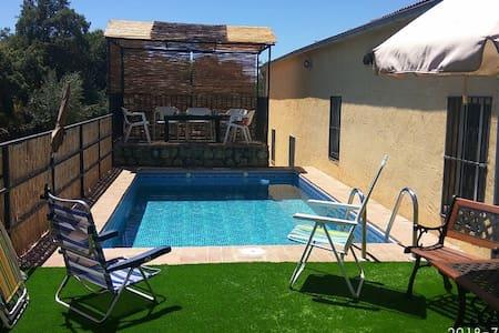 Casa rural Barranquillo con piscina privada