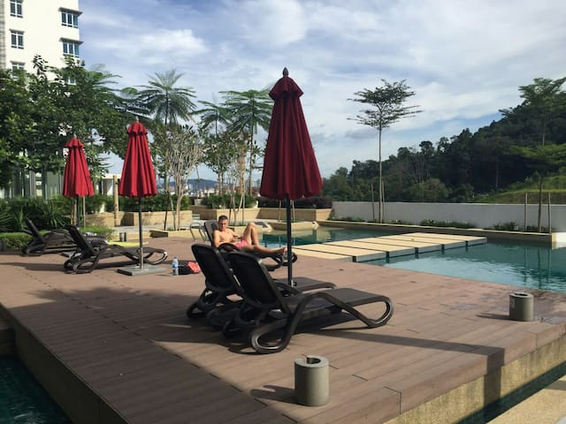 Fully Furnished Master bedroom - Kuala Lumpur - Pis