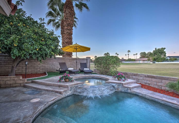 NEW! La Quinta Home on Golf Course w/ Pool + Spa!