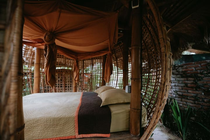 Firefly Eco Lodge - Bamboo birdsnest level #1
