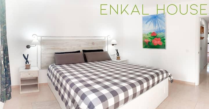 Corralejo Enkal House 3 persons - garden view