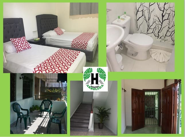 Hostal Arboleda, confortable and unexpensive rooms