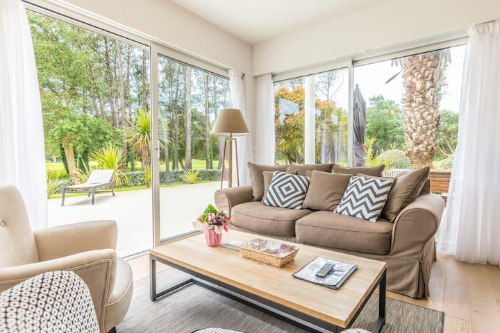 Appartement lumineux et cosy à Moliets | A deux pas du terrain de golf