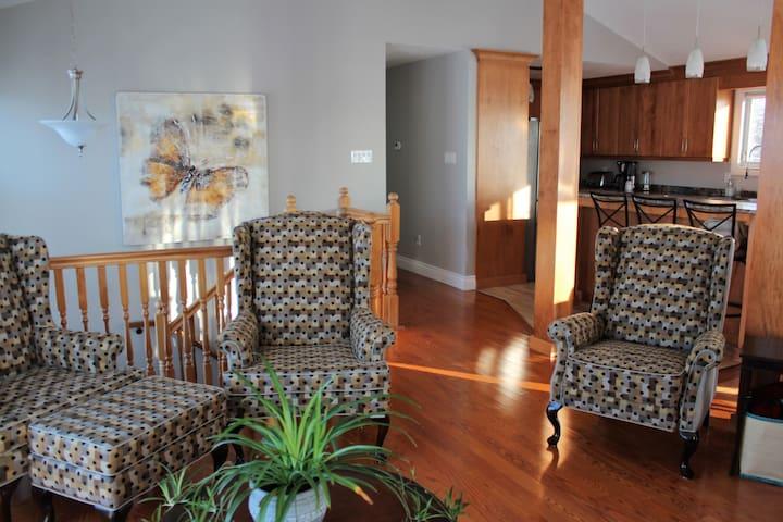 Welcoming sitting Room