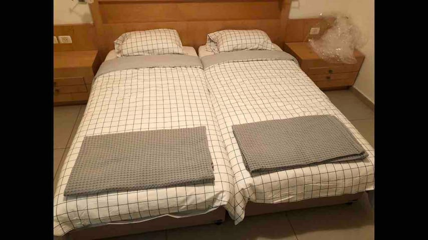 Light new summer comforters and bedding.