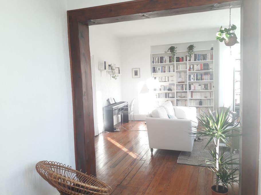 chambre dans un grand appartement haussmannien appartements louer agen nouvelle aquitaine. Black Bedroom Furniture Sets. Home Design Ideas